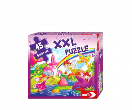 noris_spiele big-sized jigsaw puzzle fairy land 45 p.