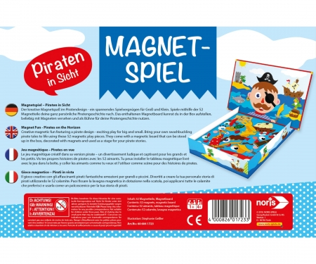 noris_spiele Magnetic game - Pirates in sight!