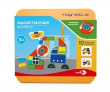 noris_spiele Magneticus Magnetmosaik – Baustelle
