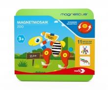 noris_spiele Magneticus Magnetmosaik – Zoo