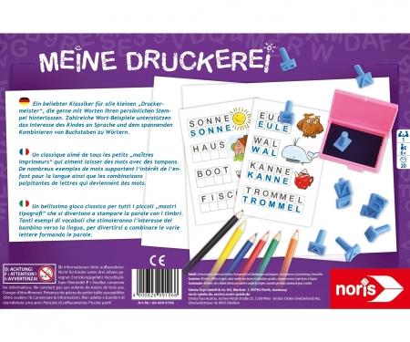noris_spiele Meine Druckerei