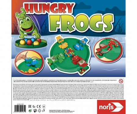 Hungry Frogs