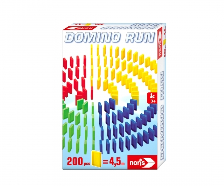 noris_spiele Domino Run 200 Bricks