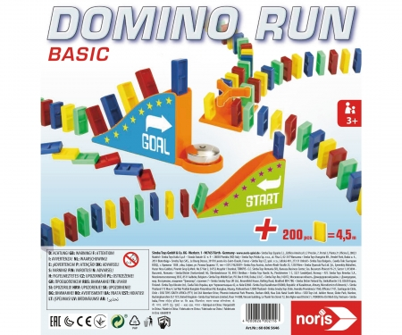noris_spiele Domino Run Basic