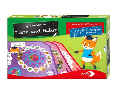 noris_spiele Spaß am Lernen - Tiere&Natur