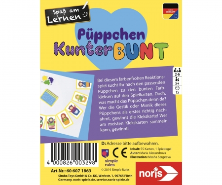 noris_spiele The colorful poppet