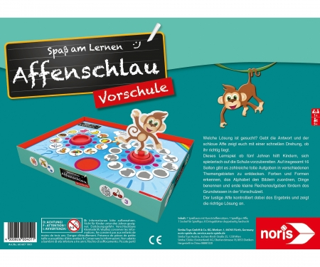 noris_spiele Clever as a Monkey