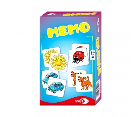 noris_spiele Memo - Mitbringspiel
