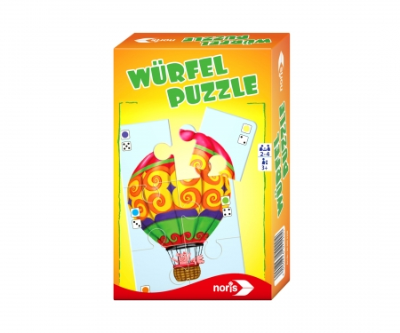 noris_spiele Würfelpuzzle - Mitbringspiel
