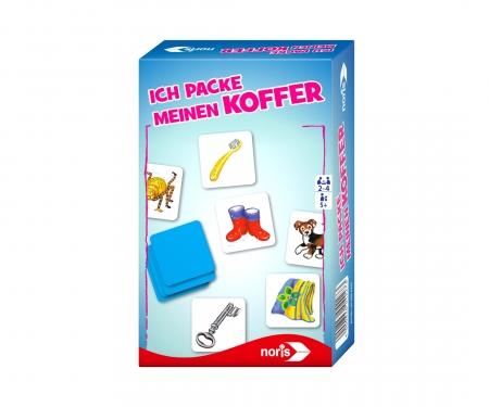noris_spiele Ich packe meinen Koffer - Mitbringspiel