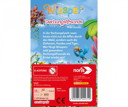 Wissper - Dschungelfreunde