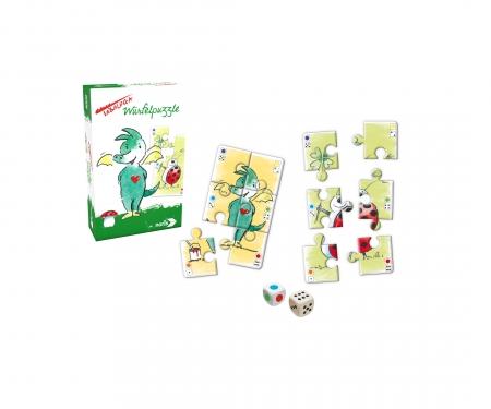 noris_spiele Tabaluga - Dice Puzzle
