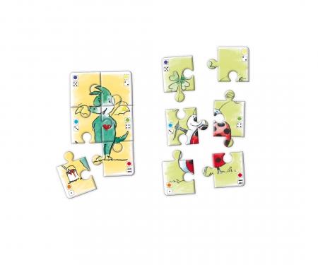 noris_spiele Tabaluga - Würfelpuzzle