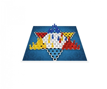 noris_spiele Deluxe Set - Halma