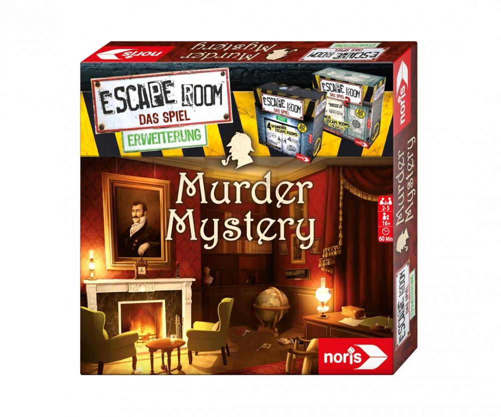 escape room murder mystery family games brands. Black Bedroom Furniture Sets. Home Design Ideas