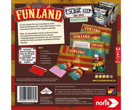 noris_spiele Escape Room Funland
