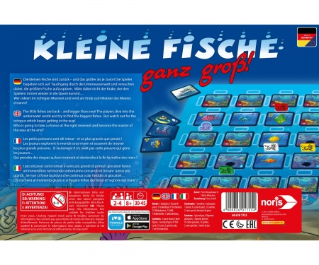 noris_spiele Small Fish XXL