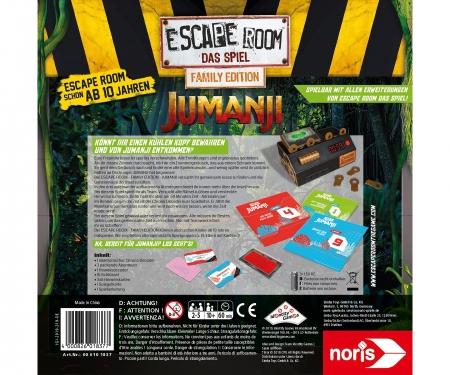 noris_spiele Escape Room Jumanji