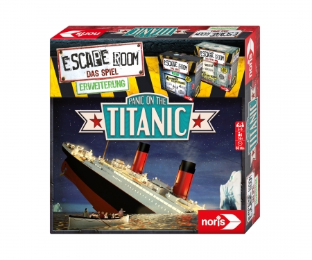 noris_spiele Escape Room Panic on the Titanic