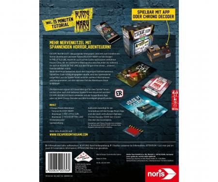 noris_spiele Escape Room 2 Players Horror