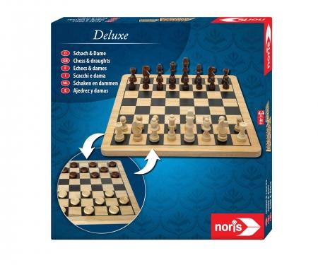 "Schach & Dame ""Holz"""