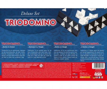 noris_spiele Deluxe Set - Triodomino