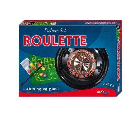 noris_spiele Deluxe Set - Roulette 25cm