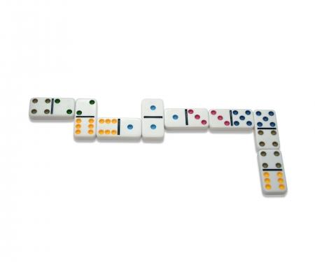 noris_spiele Deluxe Double 6 Domino