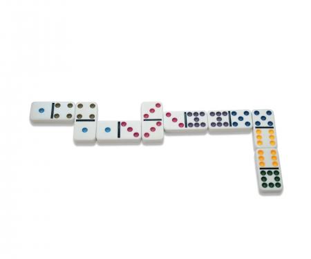 noris_spiele Deluxe Double 9 Domino