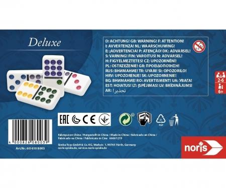 noris_spiele Deluxe Doppel 9 Domino