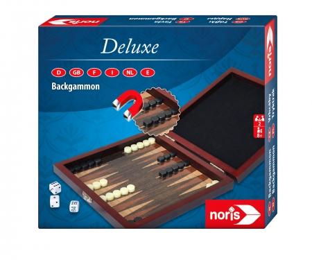 noris_spiele Deluxe Travel Game Backgammon