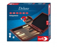 noris_spiele Deluxe Travel Game Backgammon