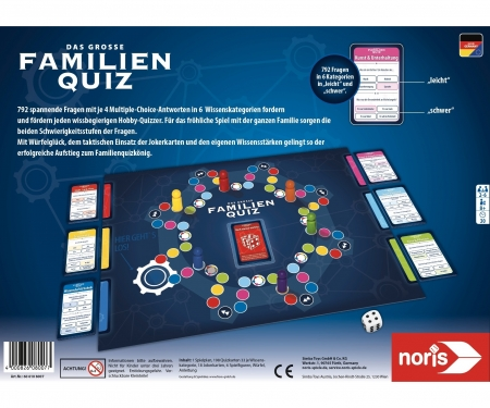 noris_spiele Family quiz game