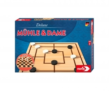 noris_spiele Deluxe - Mühle & Dame