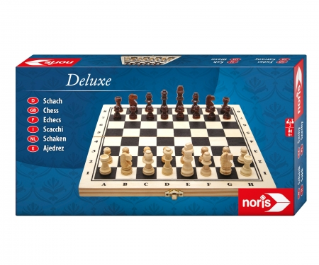 noris_spiele Deluxe Chess in wooden box