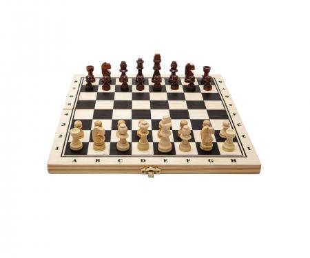 noris_spiele Deluxe Holz - Schach