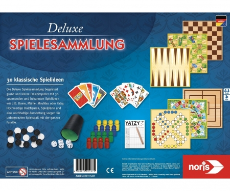 noris_spiele Deluxe Games Collection