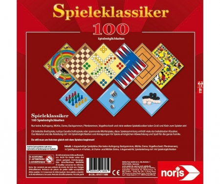 noris_spiele 100 Games Collection
