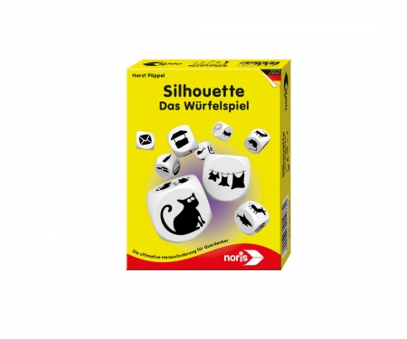 noris_spiele Silhouette The Dice Game