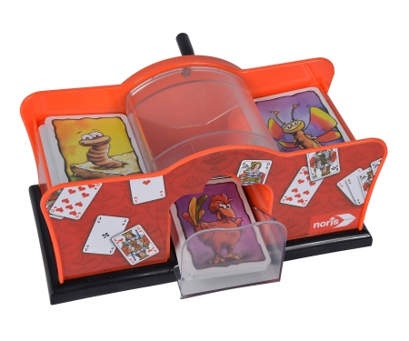 noris_spiele Kartenmischmaschine mechanisch