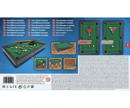 noris_spiele Pool Billard & Snooker