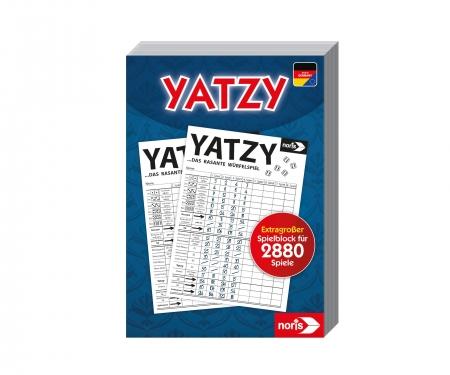 noris_spiele Yatzy - extra großer Spielblock