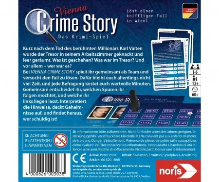 noris_spiele Crime Story - Vienna
