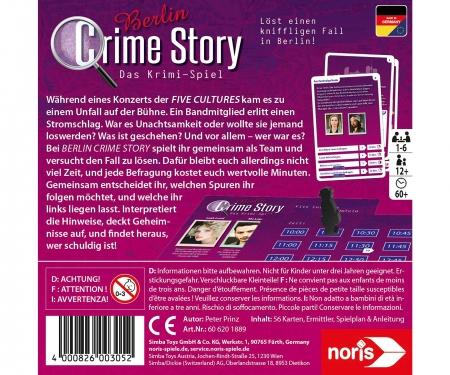 noris_spiele Crime Story - Berlin