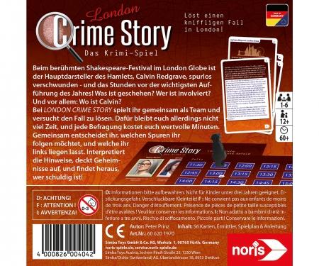 noris_spiele Crime Story - London