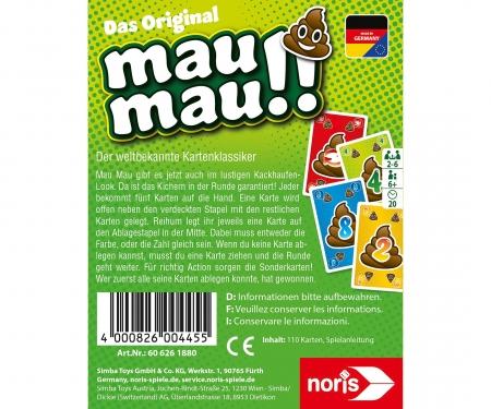 noris_spiele Mau Mau Kackhaufen