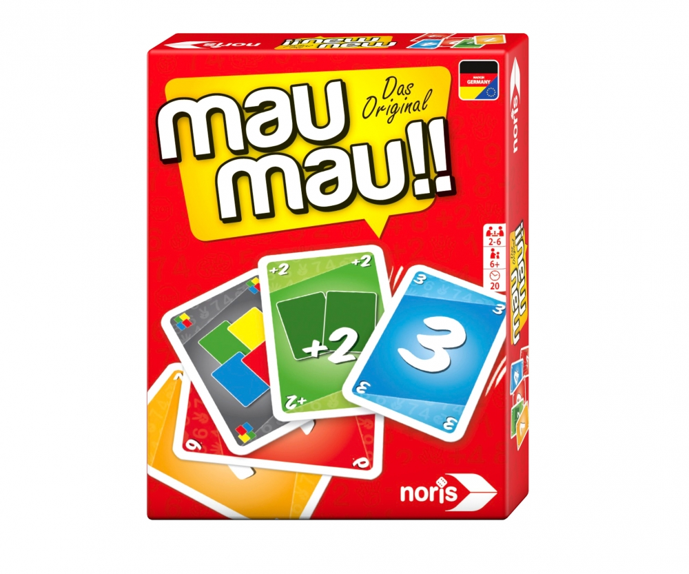 Mau Mau Family Games Brands Amp Products Www Noris