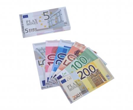 noris_spiele Euro-Spielgeld Scheine