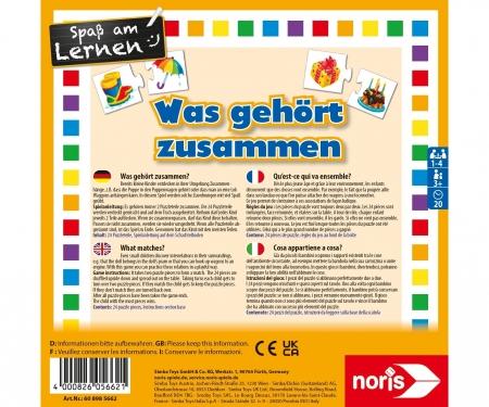 noris_spiele Was gehört zusammen?