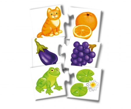 noris_spiele Farben- Puzzle